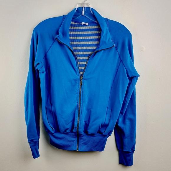 Splendid Jackets & Blazers - Splendid Blue Zipper Jacket Stretch Large L